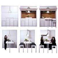 Küçük Evler İçin 7 Kompakt Mutfak Tasarımı