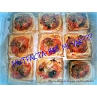 Milföyden Pratik Mini Pizzalar