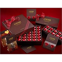 Cocoas Chocolat'ın Sevgililer Günü Koleksiyonu.
