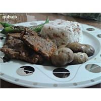 Domates Ve Mantarli Pamuk Biftek