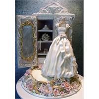 Çok Şık Ve Farklı Düğün Pastası