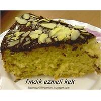 Fındık Ezmeli Kek