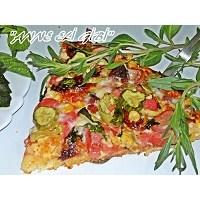 Taze Otlu Karişik Pizza