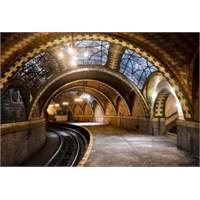 New York'ta Gizli Kalmış Metro İstasyonu