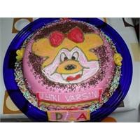 Doğum günü pastası(şekilli)