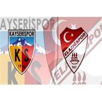 Kayserispor 1 – 3 Elazığspor ( 31/08/2013 )