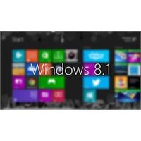 Windows 8.1 İndirilmeye Sunuldu, Şimdi Deneyin!