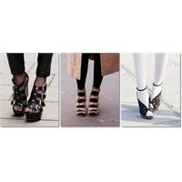 """""""Külotlu Çorap Ve Açık Ayakkabı"""""""