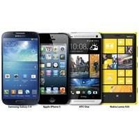 Yeni Samsun Galaxy S4 Rakipleriyle Karşılaştırma
