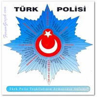 Türk Polis Teşkilatının Armasının Anlamı Nedir ?