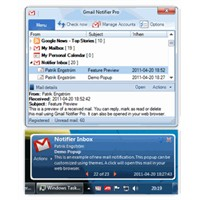 Gmail Masa Üstü Programı + Pop Up