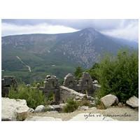 Arykanda - Yüksek Kayalığın Yanındaki Antik Kent