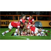 Rövanşa Gerek Yok: Kairat 1-7 Arsenal