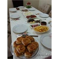 Kahvaltı Soframdan Kareler