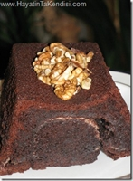 Çikolata-kahve Ve Muzlu Kek