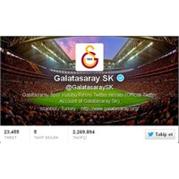 Galatasaray'ın Twitter Başarısı!