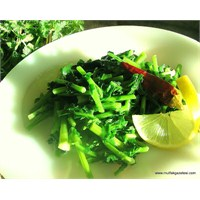 Yabani Turp Otu Salatası Tarifimiz
