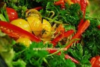 Balzamik Soslu Soya Filizi Salatası