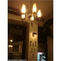 Cihangir Kahvedan Cafe Bar Restoran Aydınlatma