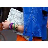 Mikro Trend: Mavi Deri Ceket