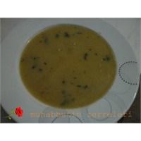 Pirinçli Mercimek Çorbası,