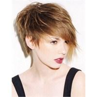 Uzun Kısa Karma Saç Modelleri