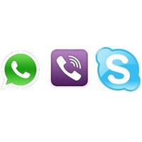Skype, Viber Ve Whatsapp Kapatılabilir