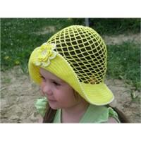 Yazlık Çok Şık Şapka Modeli