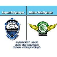 Kayseri Erciyesspor – Akhisar Belediyespor