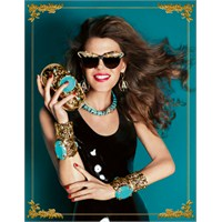 Anna Dello Russo For H&m Lookbook