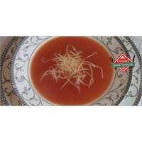 Resimli Kremalı Domates Çorbası - Gurme