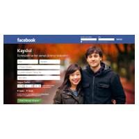 Yeni Facebook Giriş Sayfası