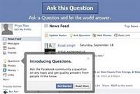 Facebook ta  bir Bilene Sor  Dönemi Başladı