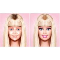 Makyajsız Barbie Bebek