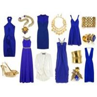 Saks Mavisi Elbise İçin Makyaj Önerileri