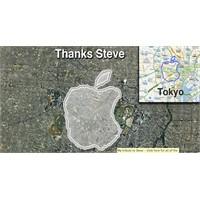 Steve Jobs İçin 21 Km.'lik Logo