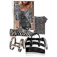 Tasarımlarda Zebra Modası