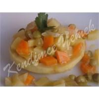Zeytinyağlı Kereviz Çanağı