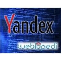 Yandex Webmaster Hizmeti!