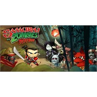 Samurai Vs Zombies Defense İphone İpad Oyunu