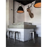 Stockholm'de Nazdrowje Restaurant Aydınlatma