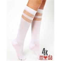 En Renkli Bayan Çorap Tasarımları