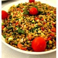 Sevilen Yeşil Mercimek Salatası