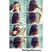 Evde Kolayca Saçını Yap-7 Farklı Öneri (Hair Tips)