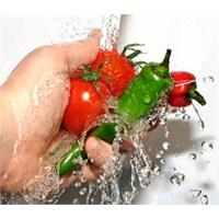 Yiyecek Ve İçeceklerin Temizliği