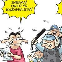 Odtü'lü Polisler Gırgır'ın Kapağında!