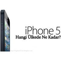 Ülke Ülke İphone 5 Fiyatları!