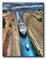 Corinth Kanalı - Yunanistan