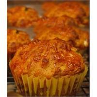 Kurutulmuş Domatesli Muffin