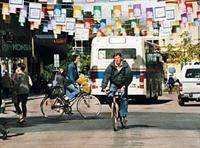 Trafikte Bisiklet Kullanmak